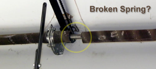 Garage Door Spring Replacement Oakville